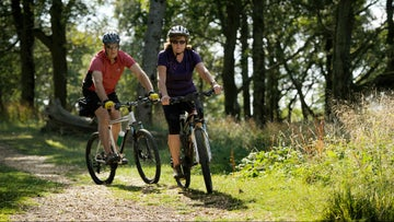 Cycling is one of the best ways to enjoy the wider estate