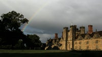 Knole in the autumn glow