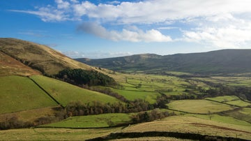 A winter view of the Vale of Edale