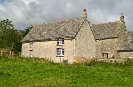 The exterior of The Cheese House on Westwood Farm, Dorset