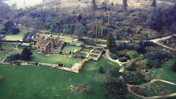 Chartwell ravaged by the Great Storm in 1987