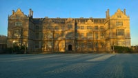 Montacute House in the winter sunshine