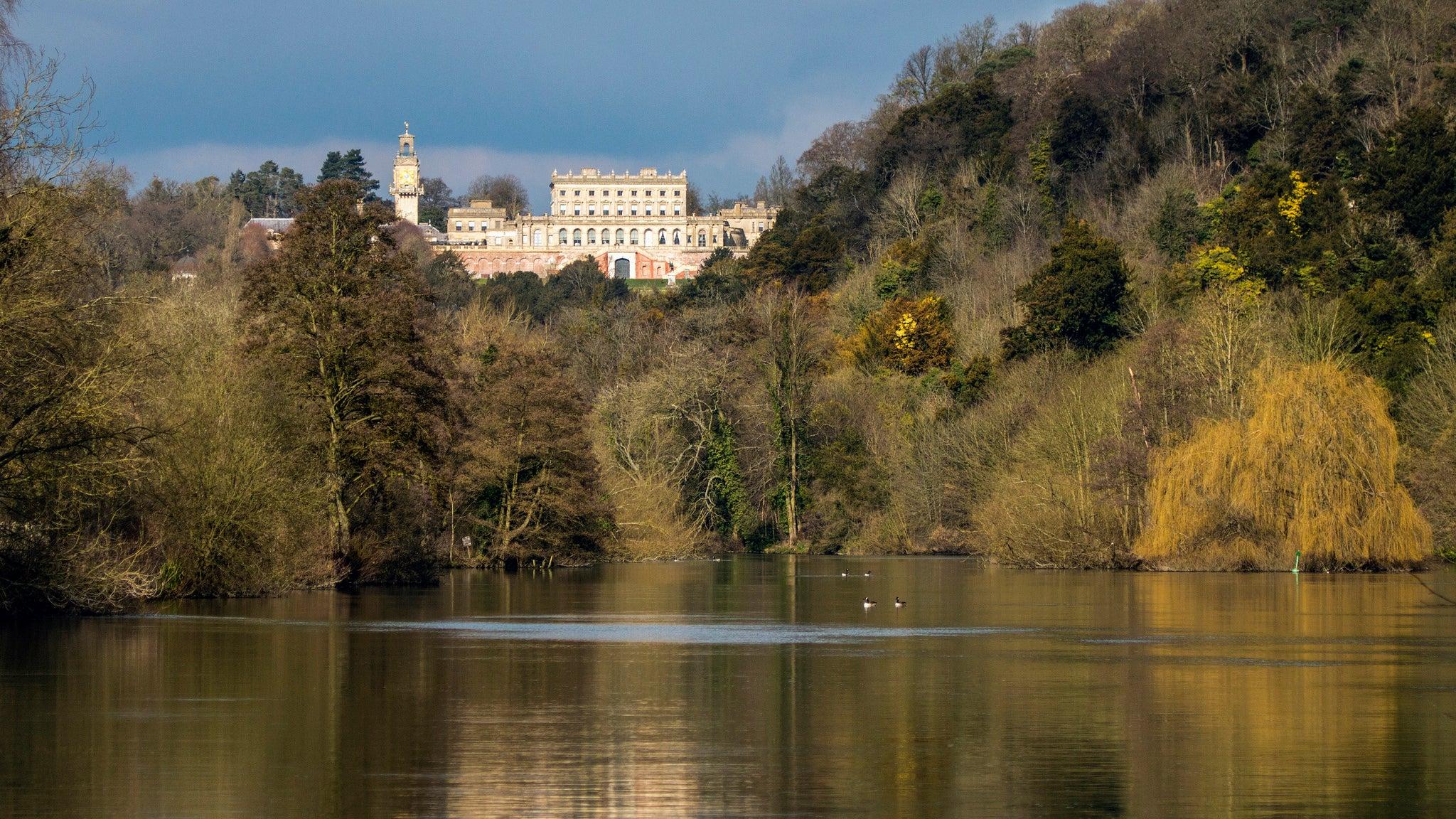 Take a woodland walk to see the many views of Cliveden House