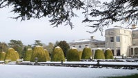 The Mansion at Shugborough in the snow