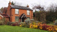 Elgar's birthplace in the autumn