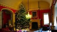 Christmas tree at Coughton Court, Warwickshire