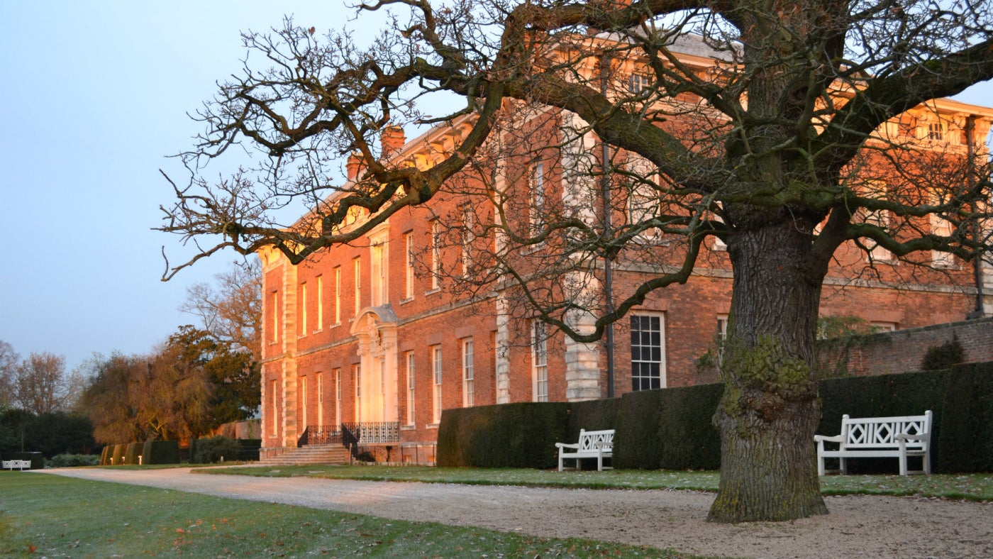 Beningbrough Hall in the winter
