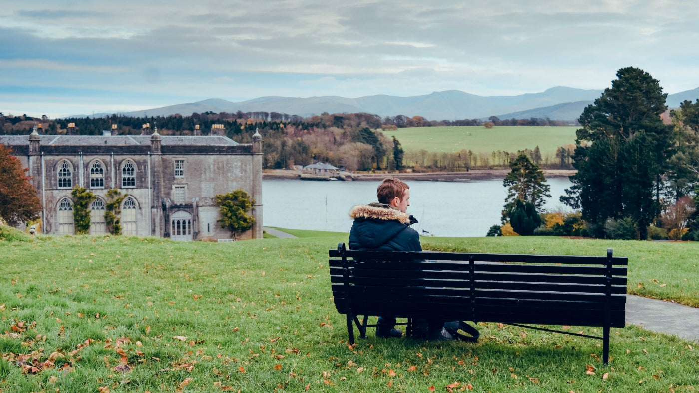 Sit back and enjoy the views at Plas Newydd