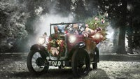 Wind in the willows will bring Christmas to life this year at Killerton near Exeter in Devon