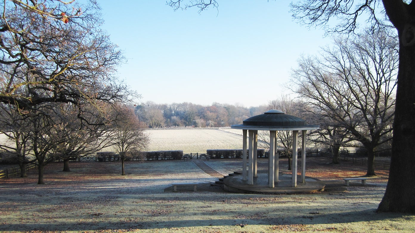 Runnymede at winter