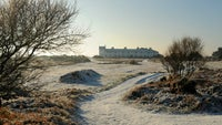 Dunwich Heath winter landscape
