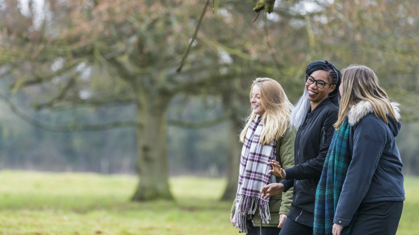 Knole Park is the perfect place for a crisp winter walk.
