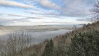Winter cloud off Wenlock Edge
