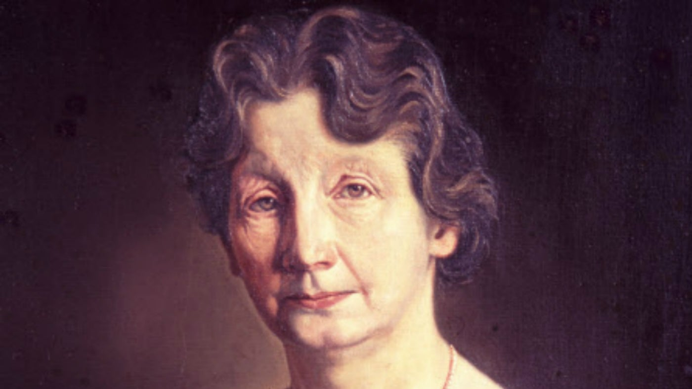 A portrait of Edith Pretty