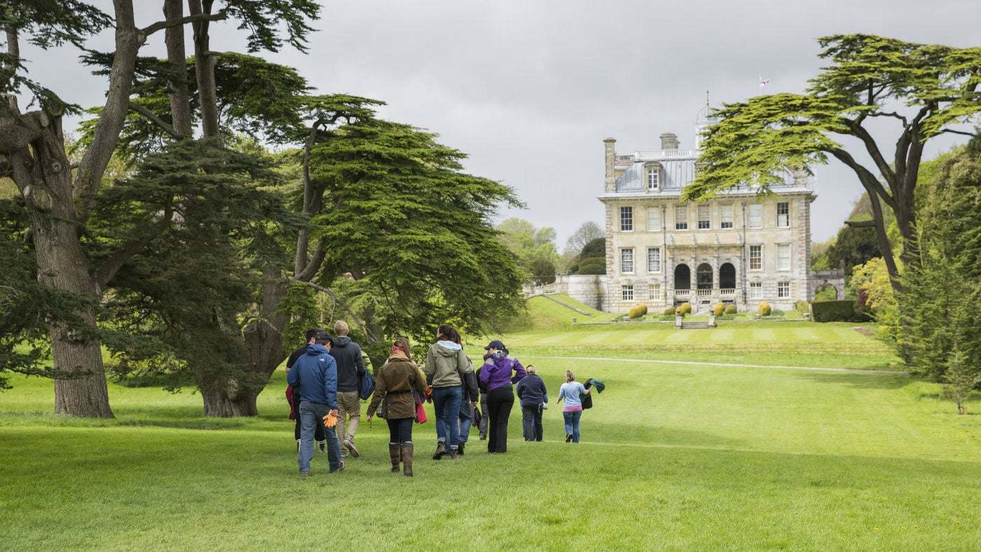 Enjoy a stroll at Kingston Lacy in Dorset