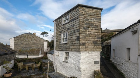 The exterior of The Birdcage, Port Isaac, Cornwall