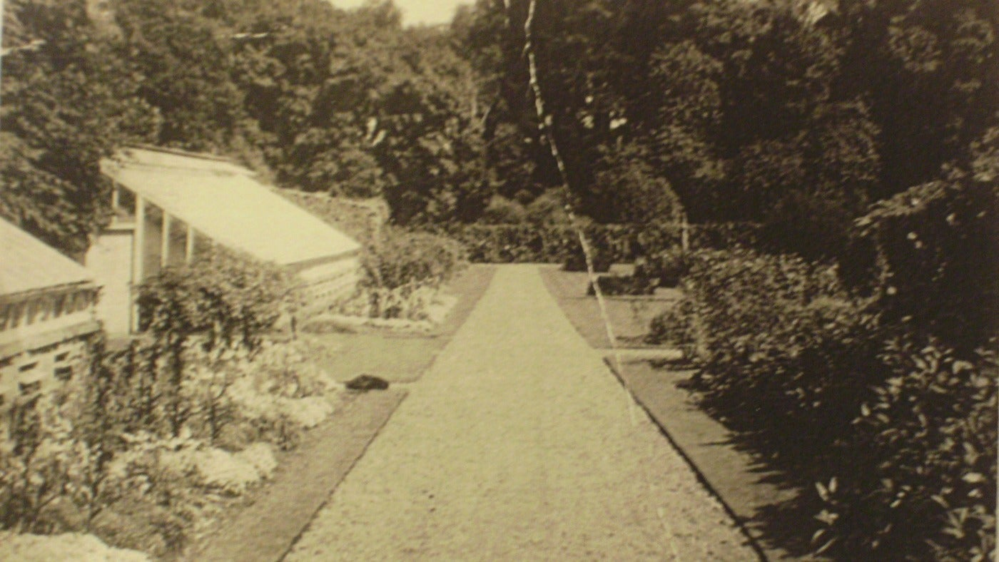 The Walled Garden at Florence Court in the 1930's