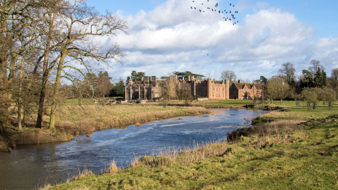 A winter walk at Charlecote will reward you with beautiful views across the parkland
