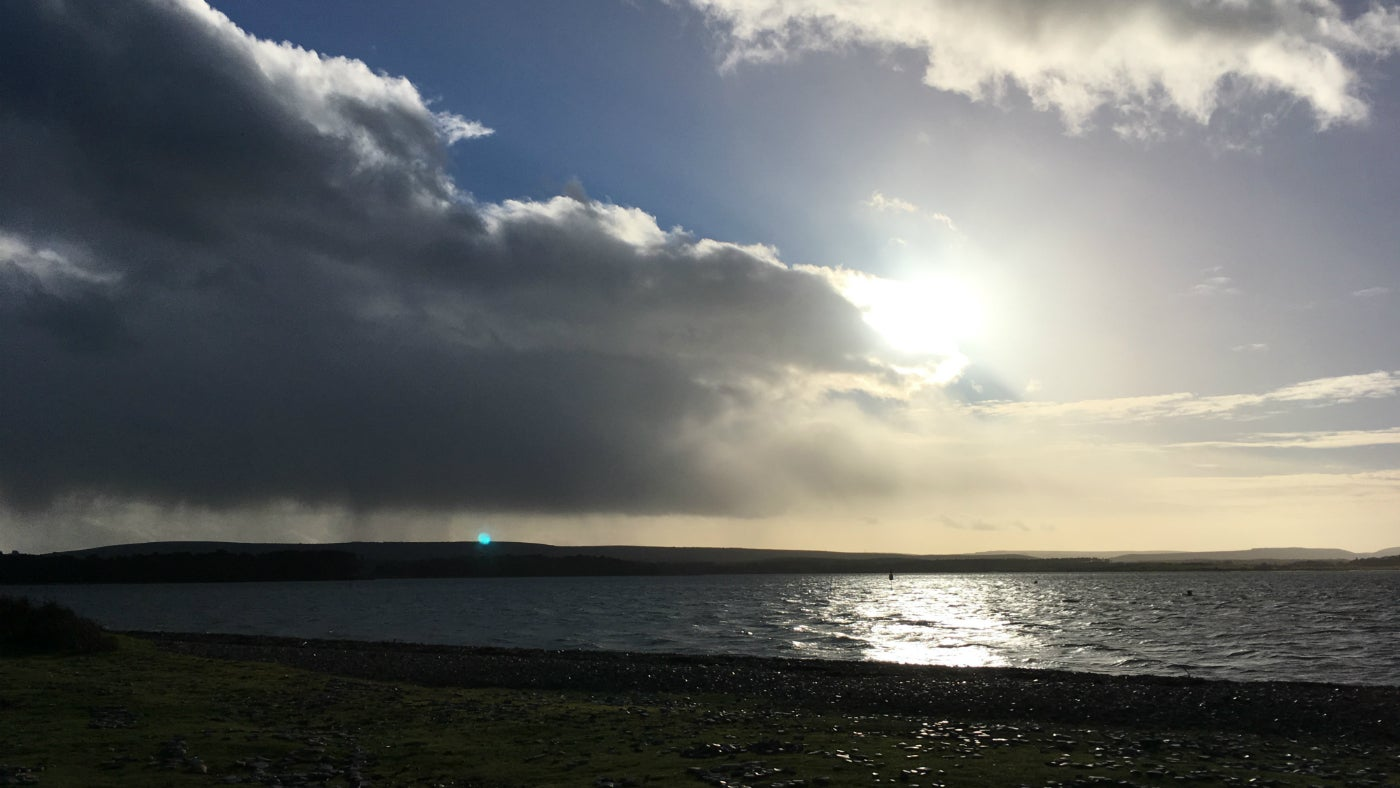 Brownsea Island winter view