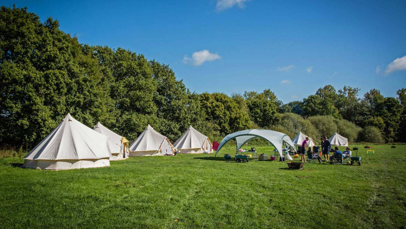 Embers Camping, Polesden Lacey, Surrey