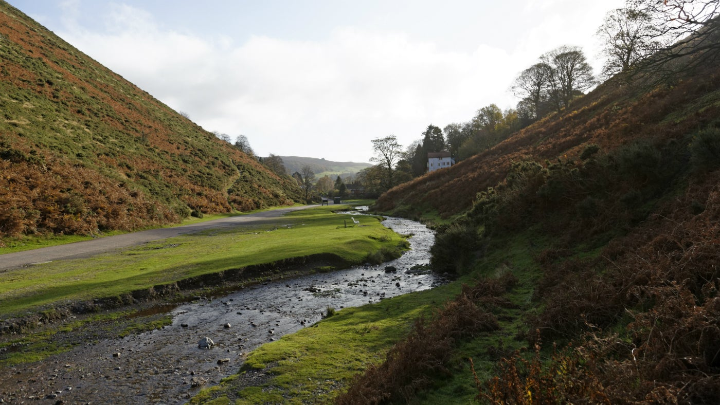 Lower Carding Mill Valley in spring