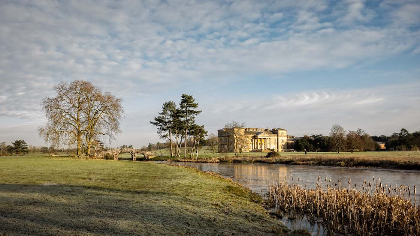 Croome court in early spring