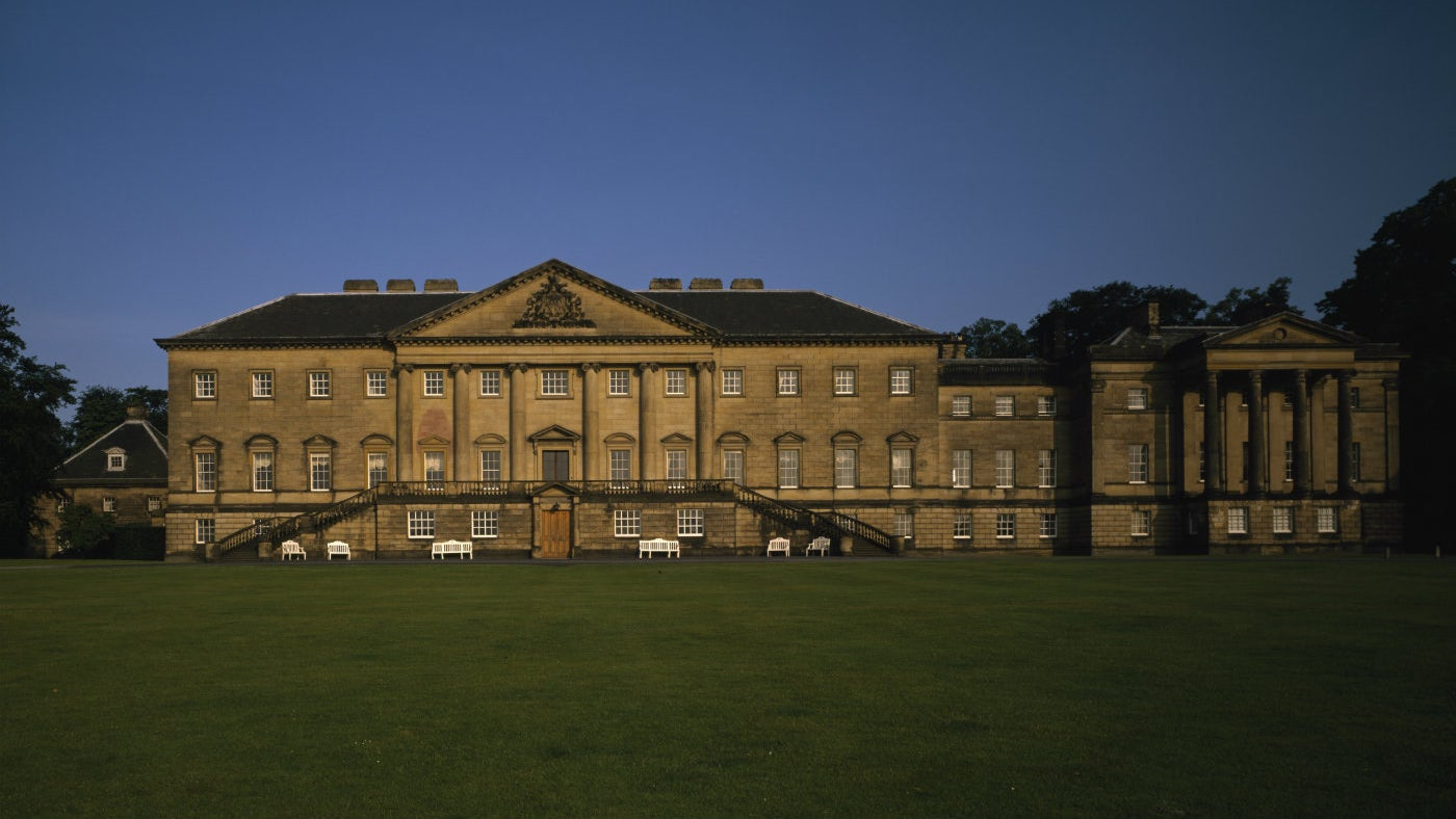 Nostell in West Yorkshire