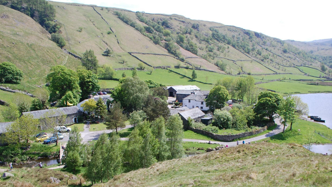 The hamlet of Watendlath, Borrowdale, Lake District