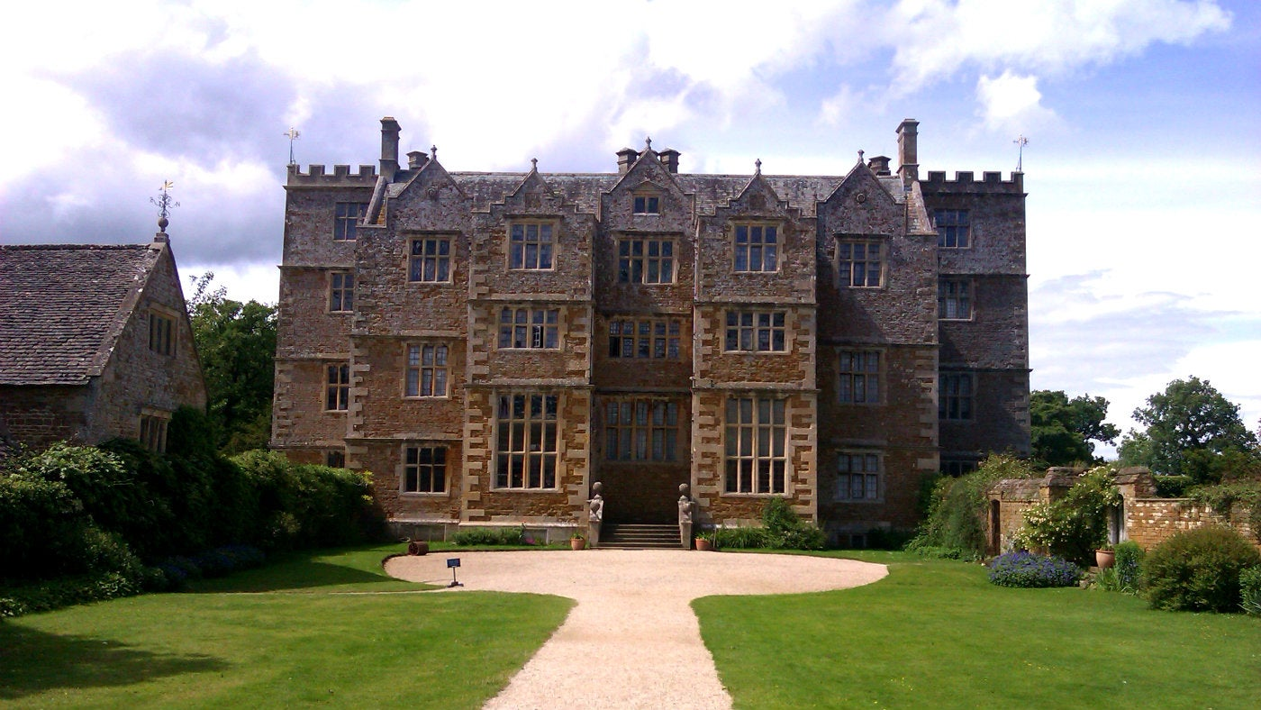 Exterior of Chastleton House, Oxfordshire