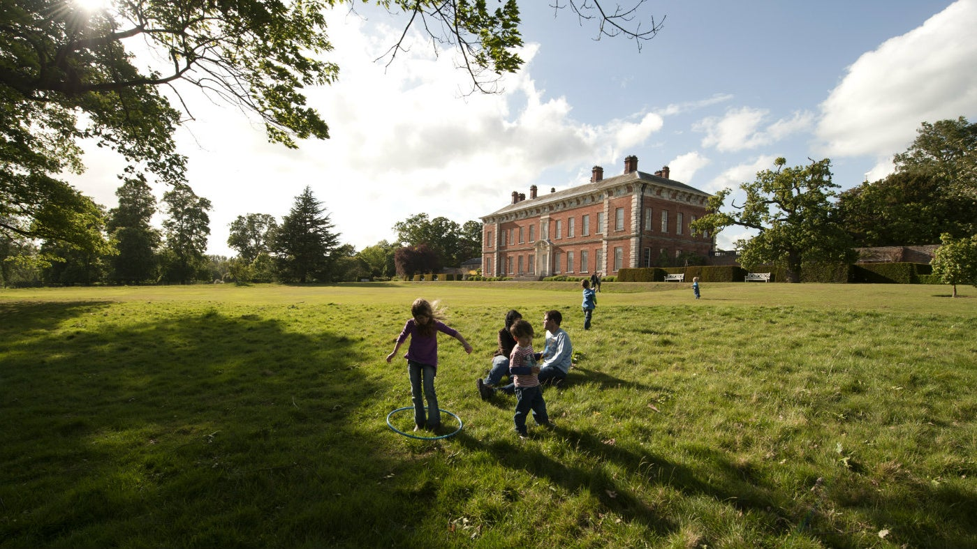 Beningbrough's south lawn perfect for playing and picnics