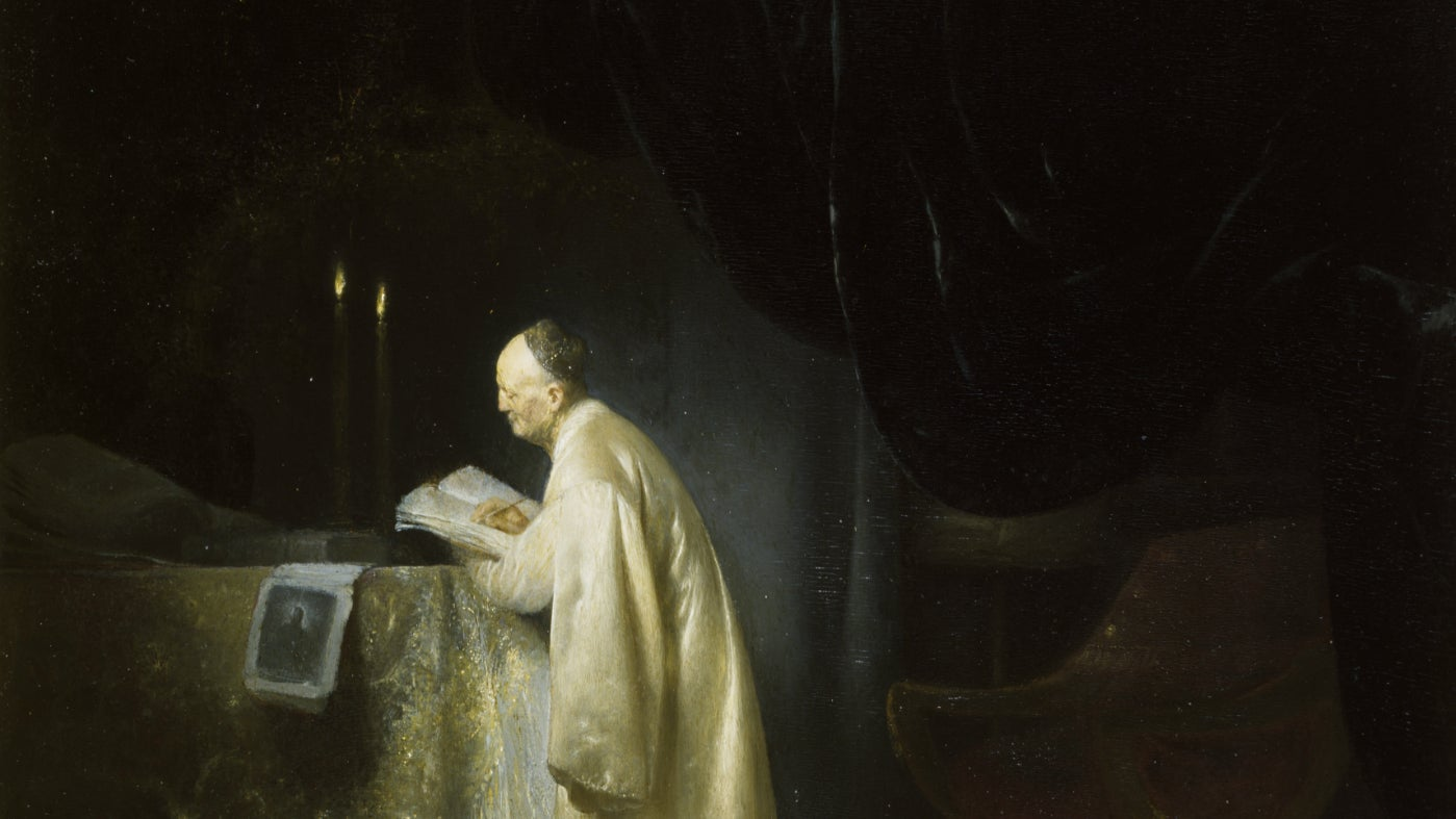 A Magus at a Table by Jan Lievens