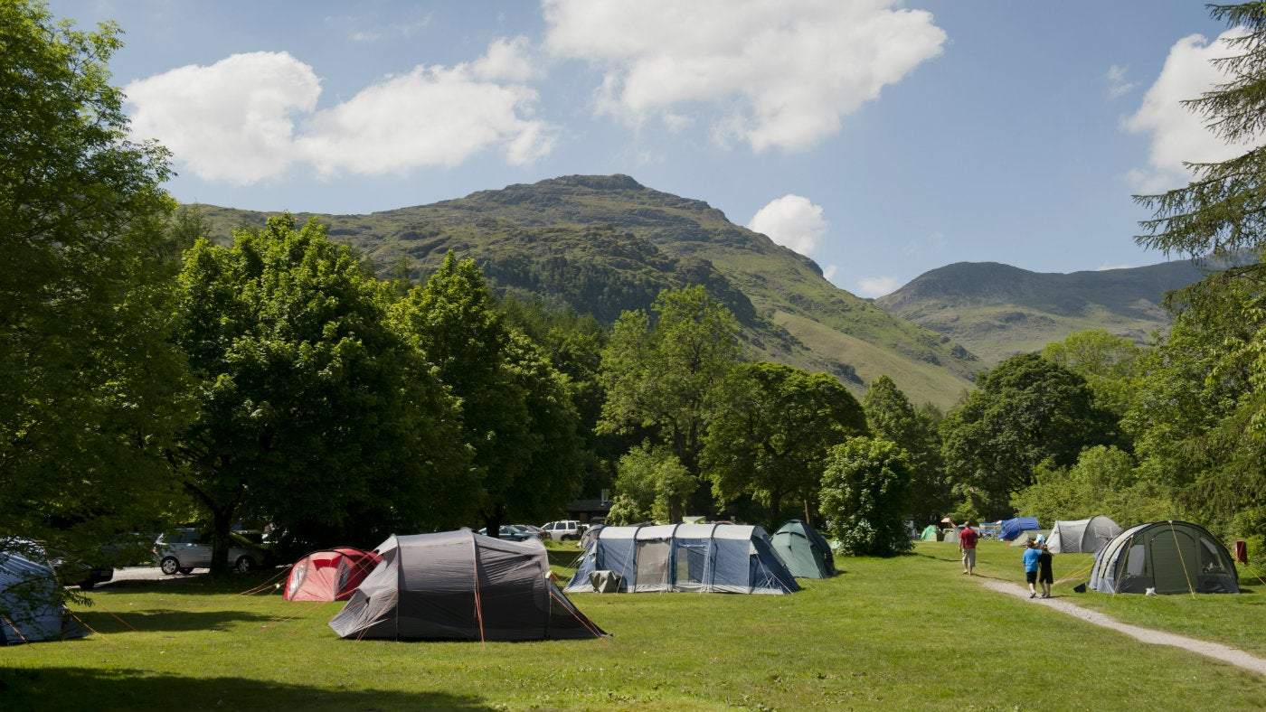 camping places campsites glamping langdale near camp campsite trust national take