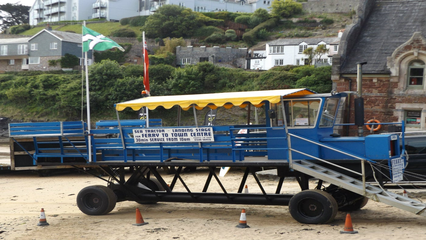 Salcombe sea tractor