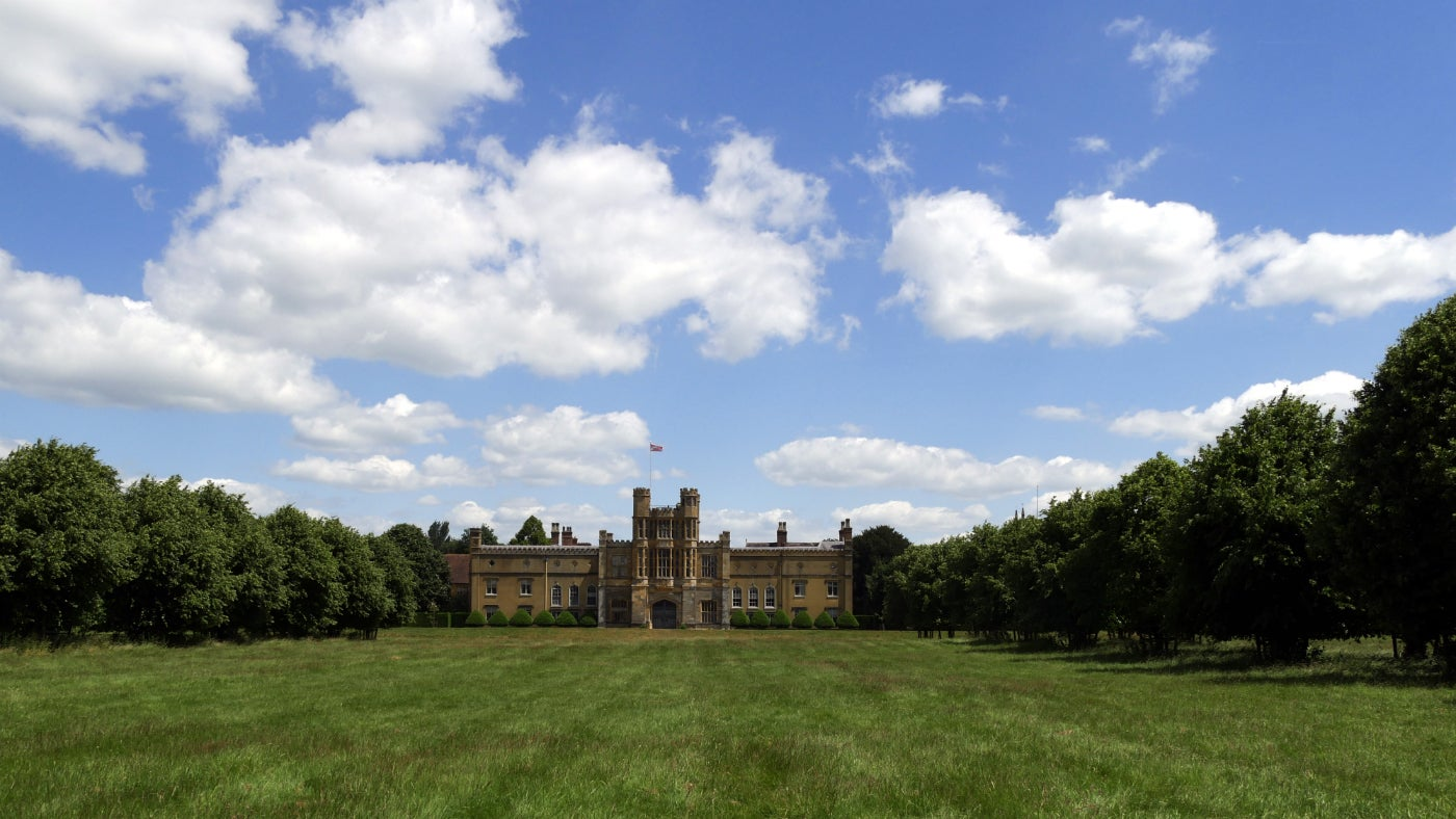 Front of Coughton Court, Warwickshire