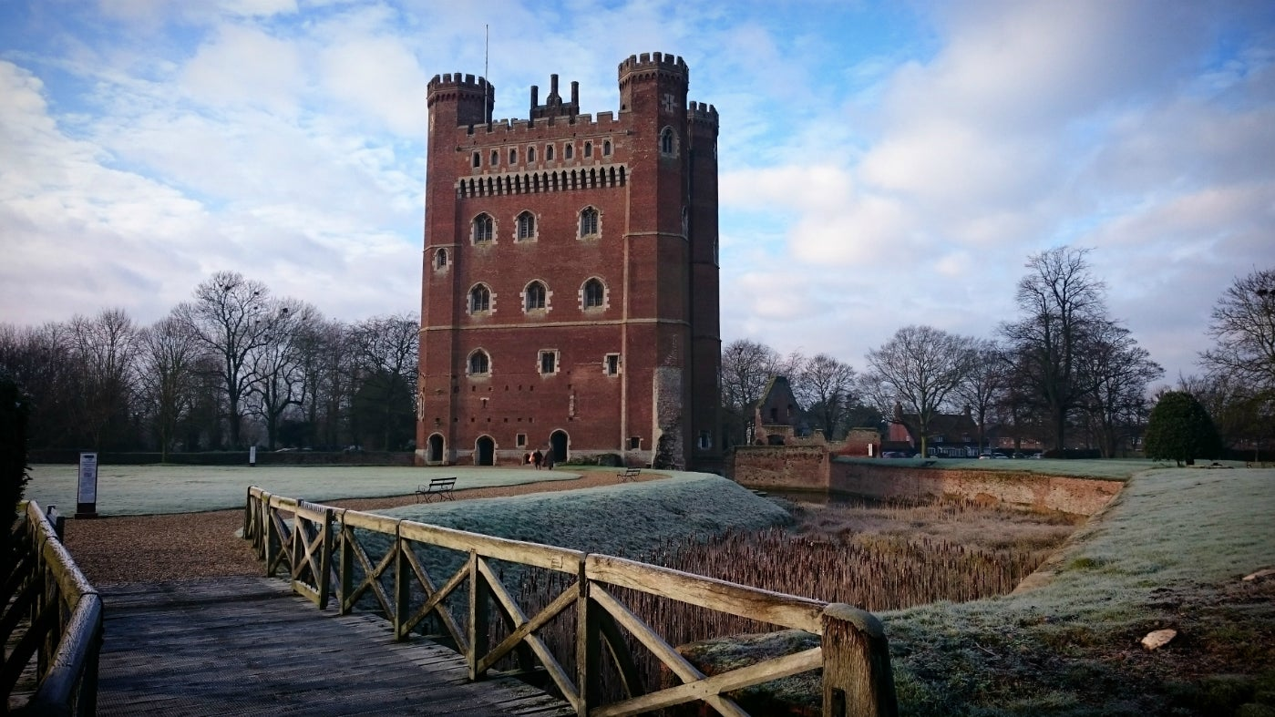 A frosty morn at Tattershall Castle