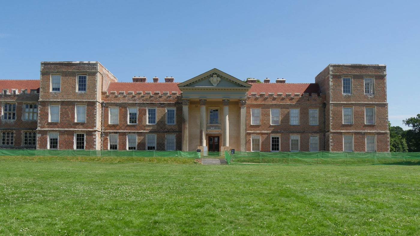 A photo of The Vyne house following a £5.4m roof project