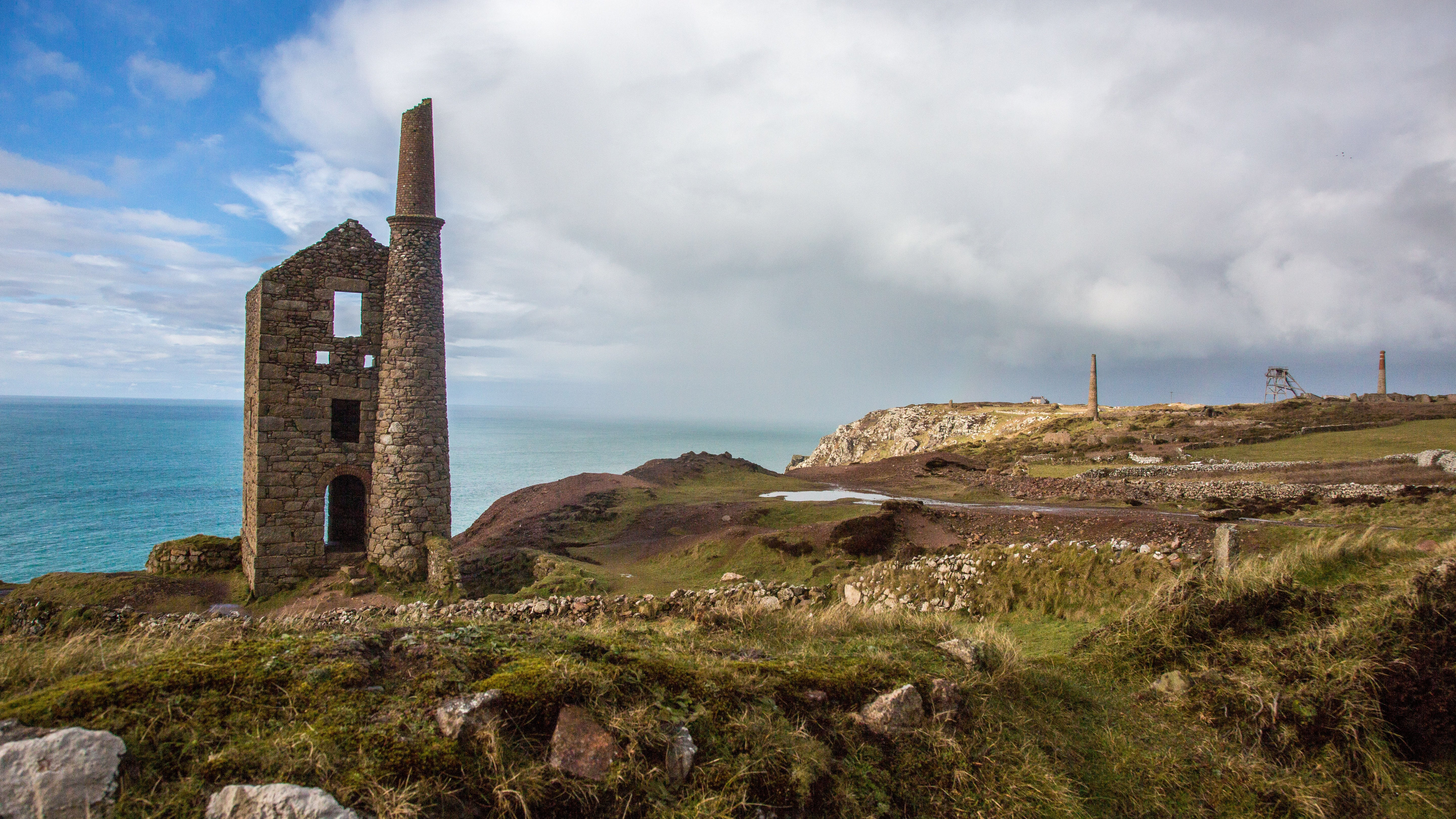 View of the Botallack mines
