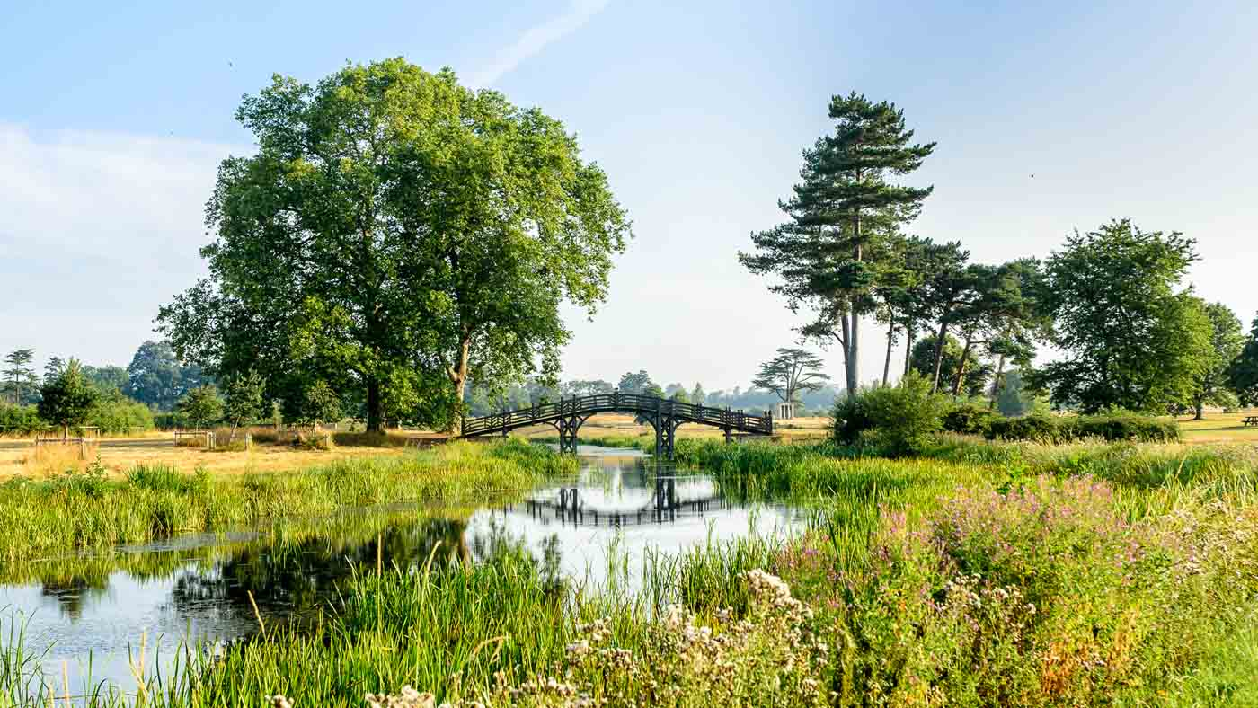 A summer morning at Croome