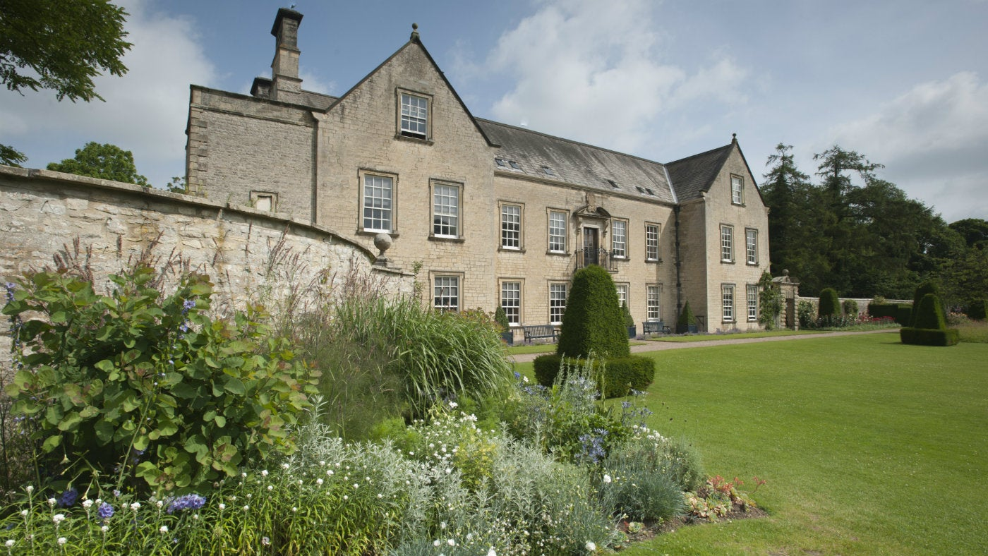 Nunnington Hall from the main lawn
