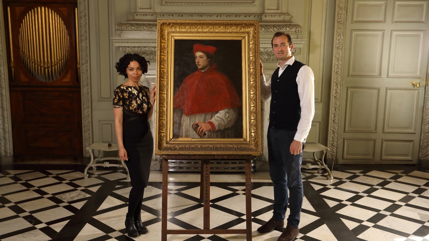 BBC Four's Britain's Lost Masterpieces at Petworth House