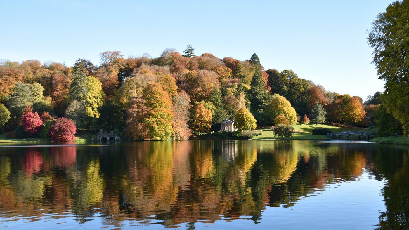 Autumn colour at Stourhead