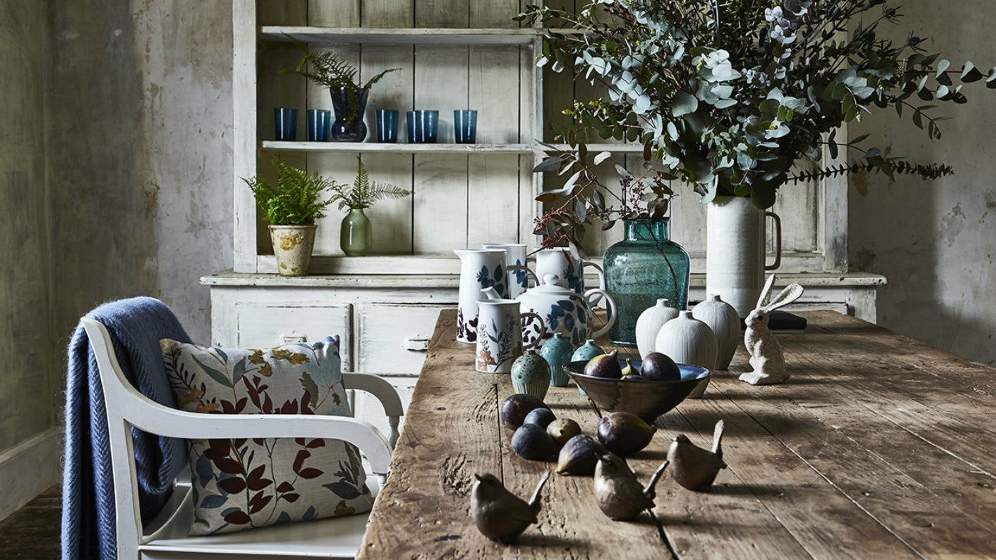 Home accessories from the National Trust's autumn shopping range