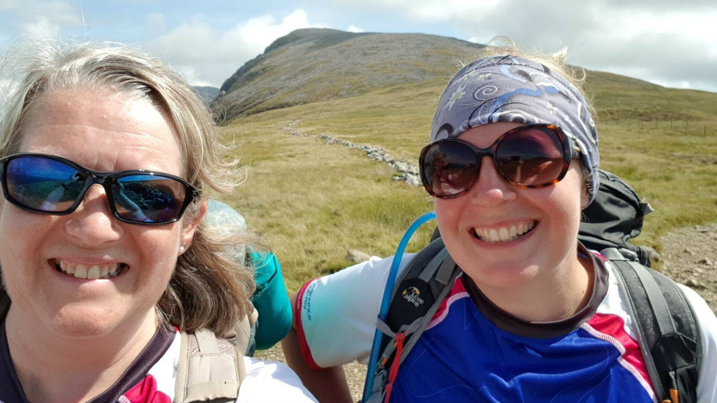 Intrepid Two Blondes on Dartmoor