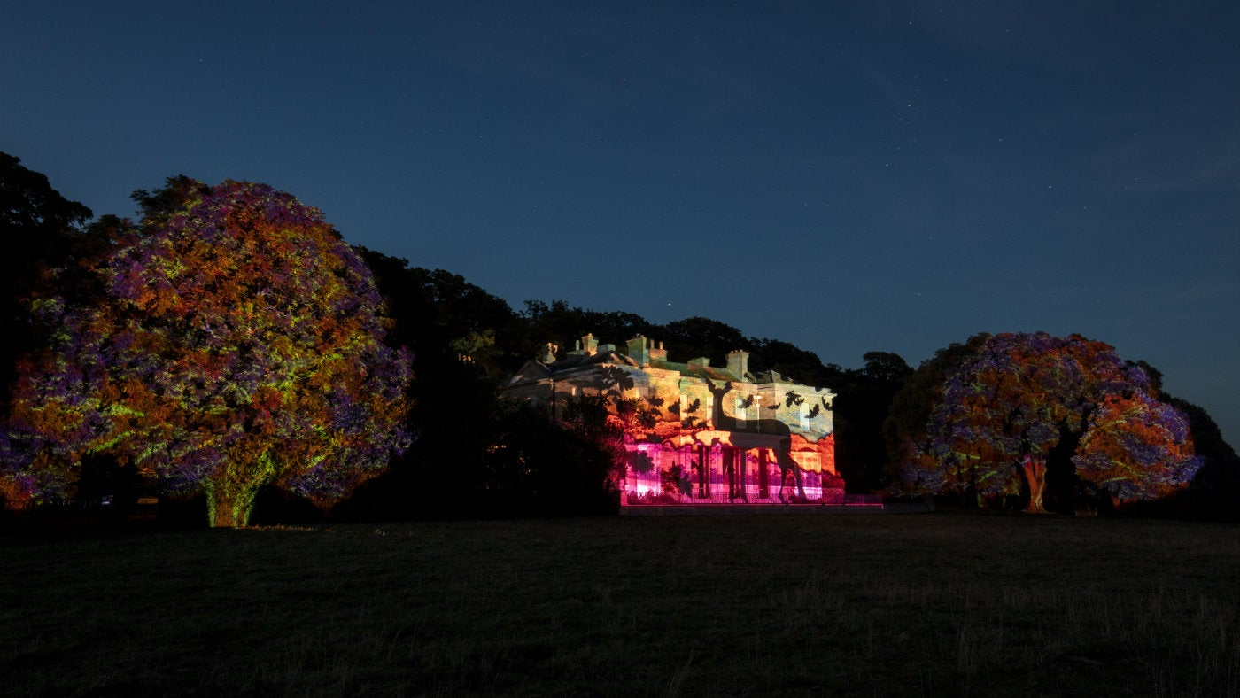 Projection on Sheringham Hall for Repton Revealed