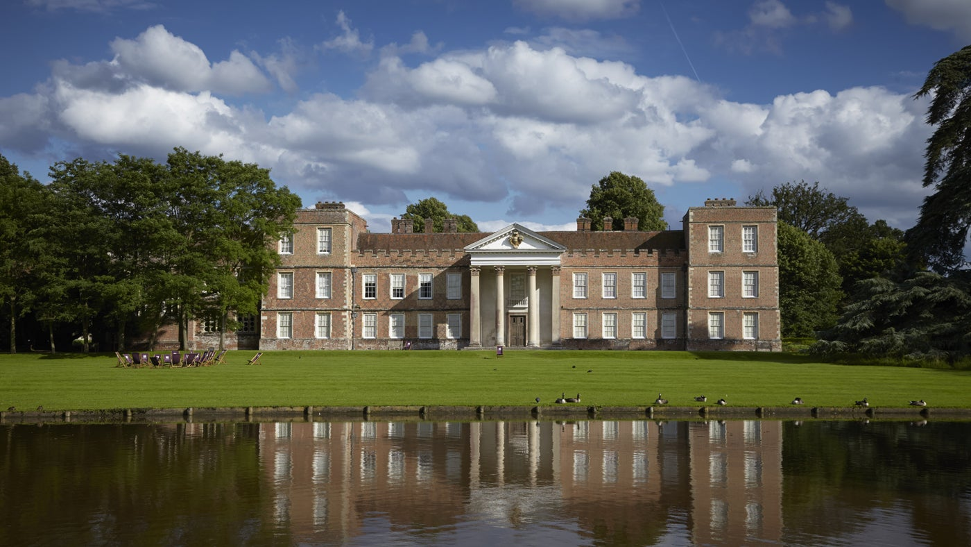 You can relax in the grounds of a former Tudor palace at The Vyne in Hampshire.