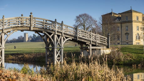 View of the Chinese Bridge at Croome, Worcestershire