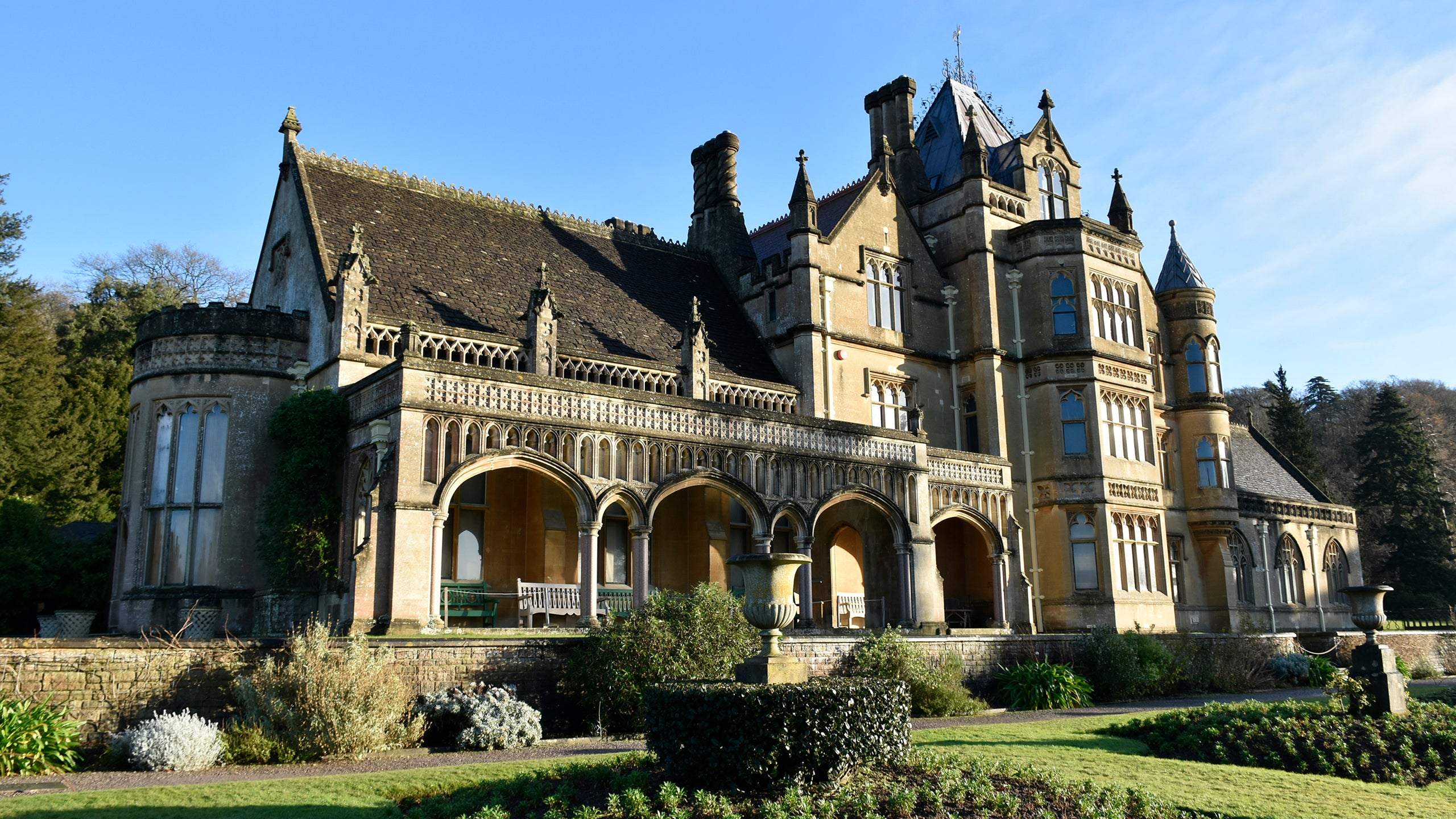 The house at Tyntesfield, Somerset
