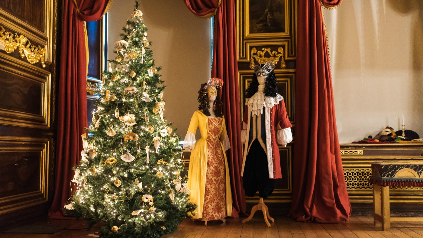 See lavish decorations at Tredegar House this Christmas