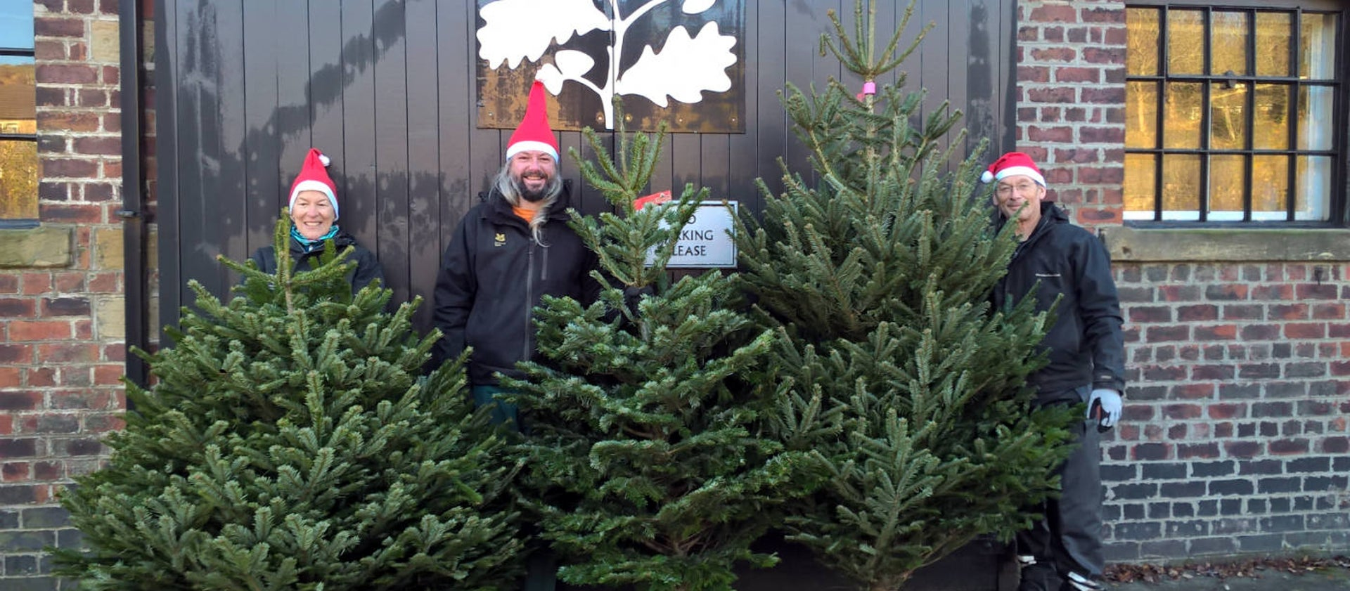 Christmas Tree Sales At Marsden Moor National Trust