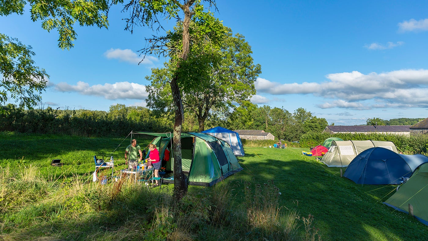 Crom Campsite, Northern Ireland